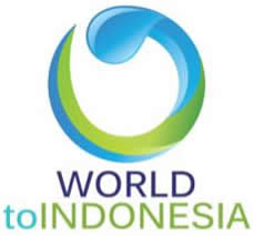 World to Indonesia
